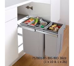Kitchen Cabinet Waste Bins by 300mm Kitchen Waste Bins East Coast Kitchens