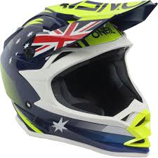 old motocross helmets oneal new 2017 mx 7 series evo australia dirt bike blue yellow