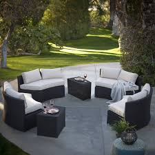 Round Patio Furniture Set by All Weather Outdoor Furniture Simple Outdoor Com
