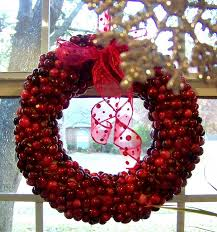 cranberry wreath 9 pretty diy wreaths you can easily make