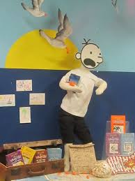 lowestoft library u0027s diary of a wimpy kid display for the