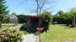 Backyard Guest Cottage by Correze Beyssenac Pretty Stone House With Separate Guest Cottage