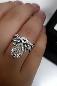 shaped engagement ring 27 stunning pear shaped engagement rings oh so