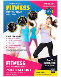 fitness flyer template 8 fitness flyers design templates free premium templates