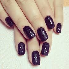 black gel nail designs how you can do it at home pictures