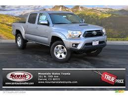 toyota tacoma silver 2015 silver sky metallic toyota tacoma trd sport double cab 4x4