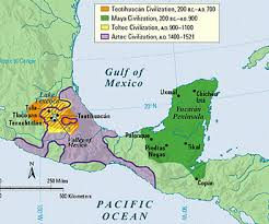 aztec map of mexico conquest of mexico