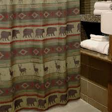 Cabin Shower Curtains Adorable Wildlife Shower Curtains And Best 20 Deer Shower Curtain