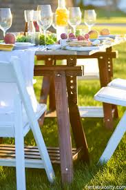 how to have a farm table dinner in your backyard recipes pics on