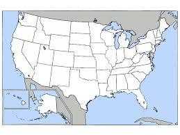 blank us map noaa