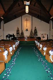 church decorations for a
