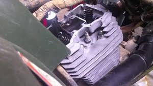 how to honda 300 cylinder and head installation youtube