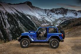 jeep rubicon blue 2018 jeep wrangler full color palette leaked