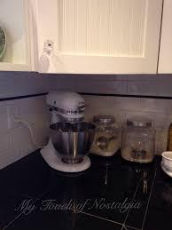 Quarter Round Kitchen Cabinets Kitchen Cabinet My Touch Of Nostalgia