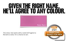 what u0027s in a paint chip name u0027romance u0027 or u0027duct tape light