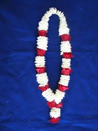 indian wedding flowers garlands 4 ft and white mums string garland with flowers around