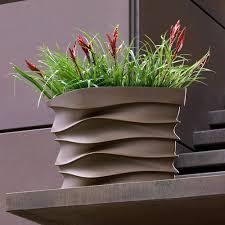 modern planters eye ain u0027t planter by crescent garden free shipping