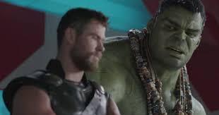 watch thor incredible hulk unite in new ragnarok trailer