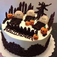 mandy u0027s baking journey black forest halloween cake