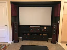 Living Room Speakers Enricoclaudio U0027s Home Theater Gallery Living Room With Ascend