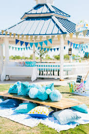 how to decorate birthday party at home a first birthday picnic in the park project nursery