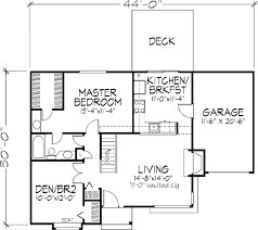 ranch style house plan 1 beds 1 baths 950 sq ft plan 320 329