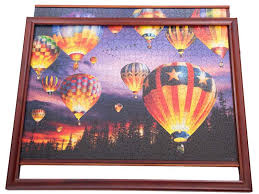 light wood picture frames wooden jigsaw puzzle frames light wood for 1000 piece puzzles
