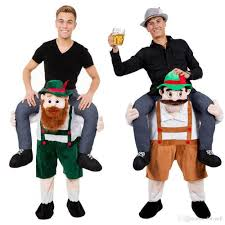 Ted Halloween Costume Carry Bavarian Beer Guy Ride Oktoberfest Mascot Fancy