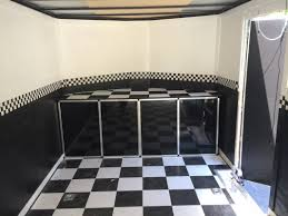 race car trailer cabinets custom v nose trailer cabinets home furniture decoration