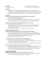 Resume Sample Harvard University by Venture Capital Resume Sample Free Resume Example And Writing