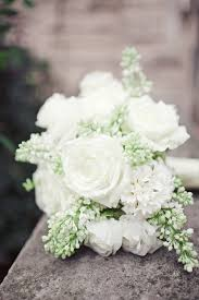 White Rose Bouquet Gold White Austin Wedding From The Nichols