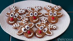 gingerbread reindeer cookies are a cute take on a holiday classic