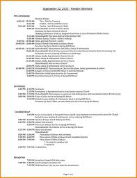 Wedding Itinerary Template For Guests 9 Itinerary Sample Workout Spreadsheet