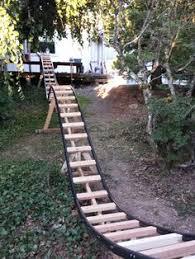 roller coaster for backyard dad built a diy roller coaster in his backyard roller coaster