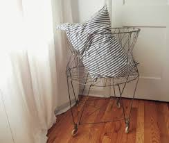 Laundry Hamper With Wheels by Wire Laundry Basket Home Design By Fuller