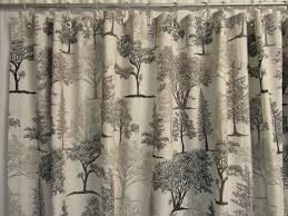 rustic shower curtain graphite gray shower curtain nature