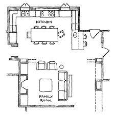 kitchen family room floor plans international flavor international style kitchen family rooms