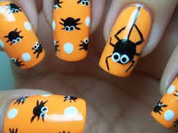 28 halloween nail art designs picsrelevant