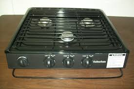 Slide In Gas Cooktop Suburban 3100a 3 Burner Slide In Cook Top Stove