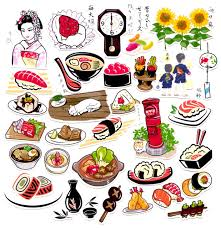 scrapbooking cuisine 31pcs self made japanese food sushi scrapbooking stickers