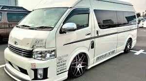 lexus van 2015 2015 model toyota hiace youtube