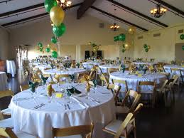 gold u0026 green room set up reunion decorations pinterest green