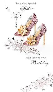 very special sister happy birthday greeting card cards love kates