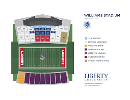 Ben Hill Griffin Stadium Map Liberty Athletic Tickets Liberty Flames