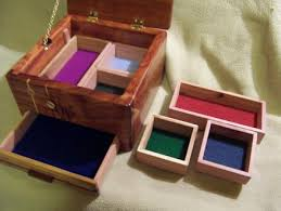 Woodworking Projects With Secret Compartments - wooden boxes with secret compartments