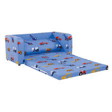 Folding Couch Chair by Childrens Sofa Bed In Blue Toy Trucks Kids Beds Cuckooland