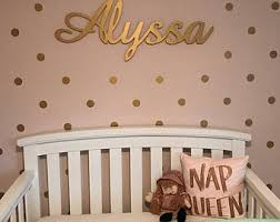 glitter name personalized name sign name wall hanging