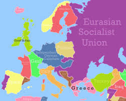 updated map of europe europe in 2065 updated by foxyredcat on deviantart