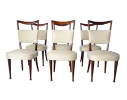 Italian Dining Tables And Chairs Osvaldo Borsani 6 Italian Dining Room Chairs Italy 1950 Circa