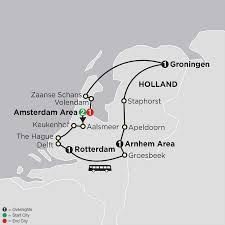 Map Of The Netherlands The Best Of The Netherlands Tour Cosmos